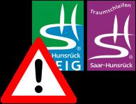 Sperrung Traumschleife Saar-Hunsrück-Steig 22.-28. August 2019
